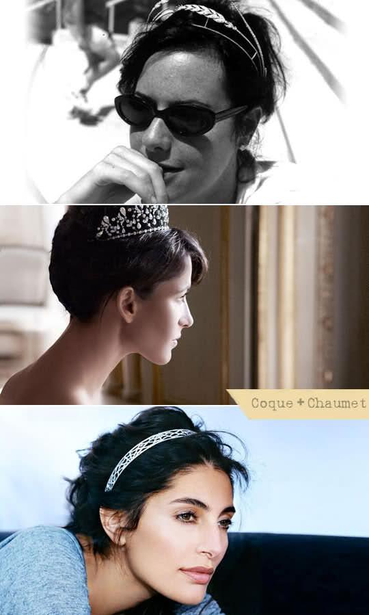penteado noiva coque tiara