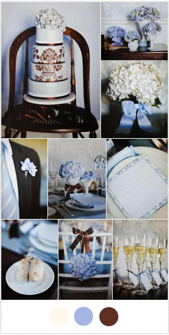 paleta-de-cores-com-hortensias-azul-marrom-e-branco