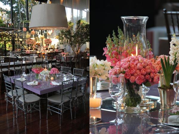 bossa nova decoracao casamento rosa azul