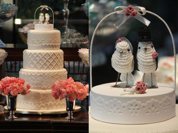 bolo de casamento passarinhos topo