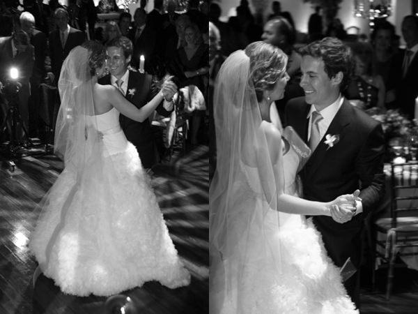 danca dos noivos vestido vera wang