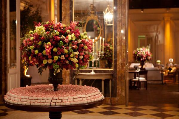 decoracao casamento rosa vinho verde