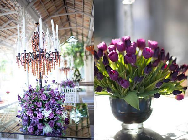 decoracao casamento provence roxo lilás rosa