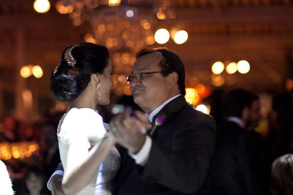danca noiva pai valsa
