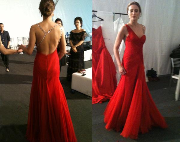 vestido madrinha vermelho wanda borges