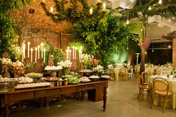 decoração casamento verde branco clarissa rezende