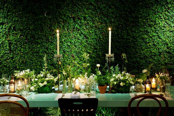 decoração casamento verde branco monica rezende