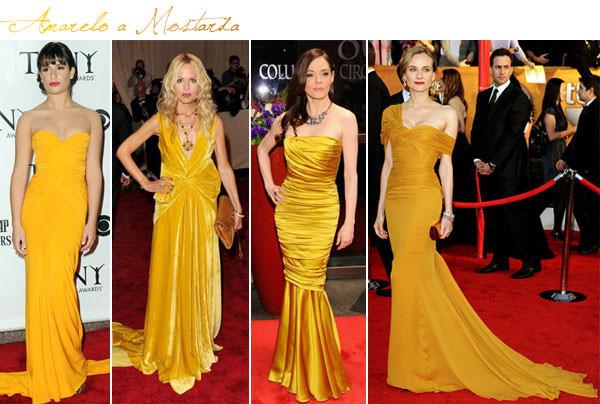 vestido madrinha casamento amarelo mostarda
