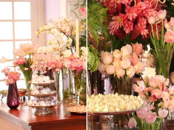 decoração casamento rosa turquesa