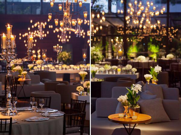 decoração de casamento branco disegno ambientes