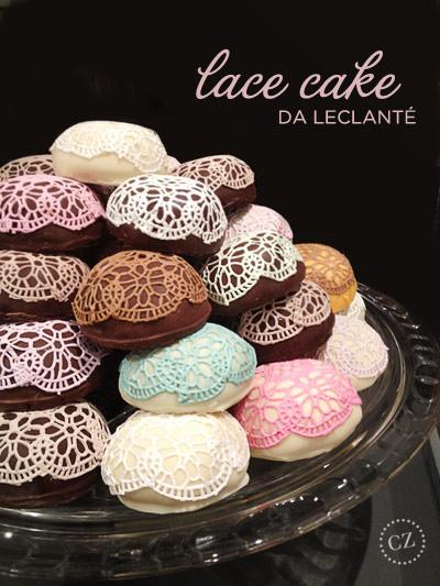 lace cake leclanté pâtisserie