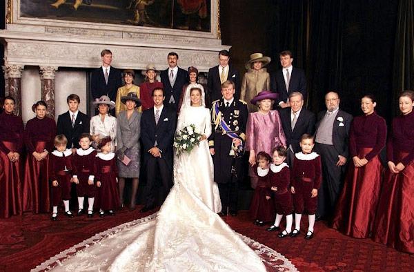 daminhas casamento princesa maxima