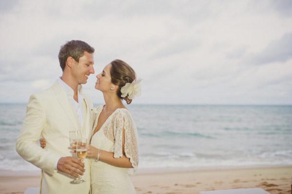 casamento na praia trancoso bahia