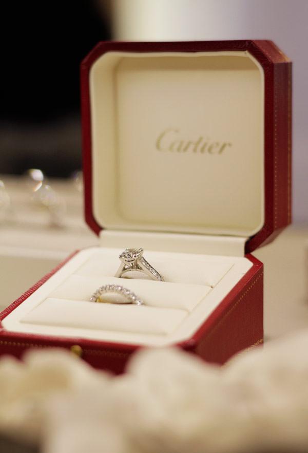anel de noivado cartier bridal