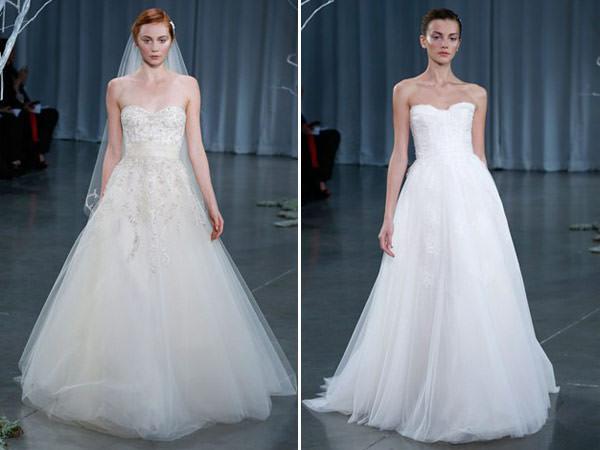 vestidos de noiva monique lhuillier fall 2013