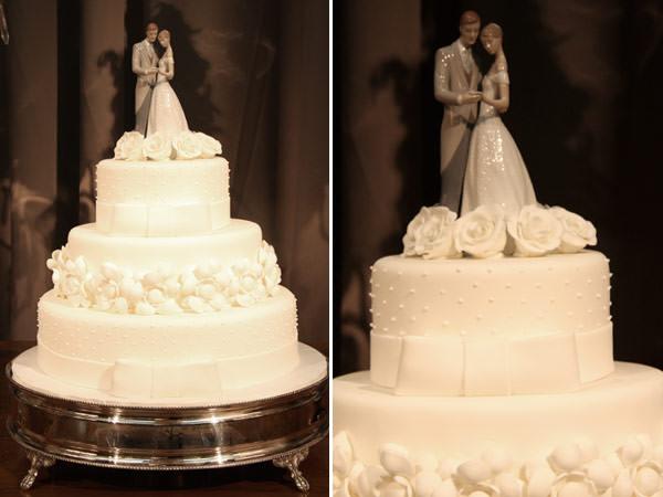 bolo-casamento-branco-noivinhos-lladro-porcelana