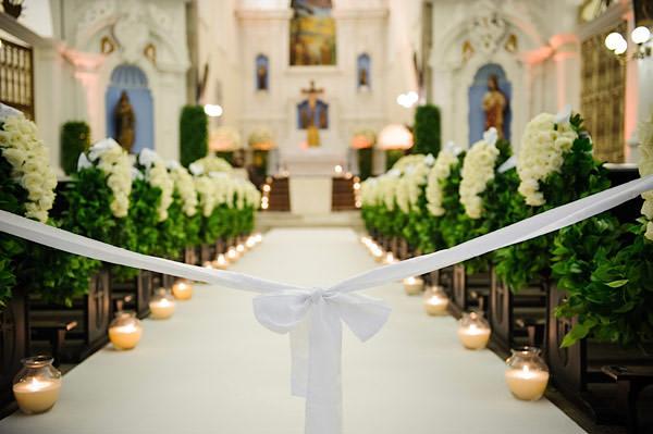 casamento-patricia-iris-decoracao-cerimonia-igreja-verde-branco