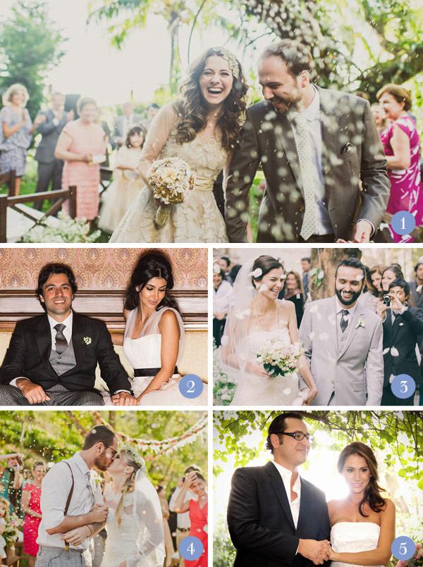 Retrospectiva 2013: Casamentos moderninhos