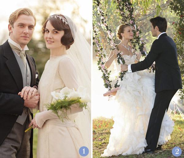 retrospectiva-casamentos-seriados-tv-downton-abbey-revenge