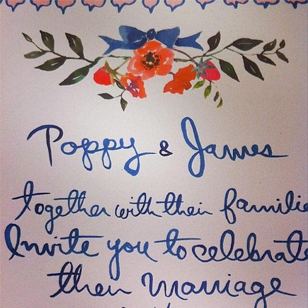 convite-casamento-poppy-delevingne-ilustracao