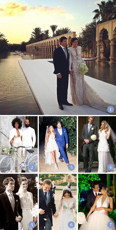 Retrospectiva 2014: casamentos fashionistas