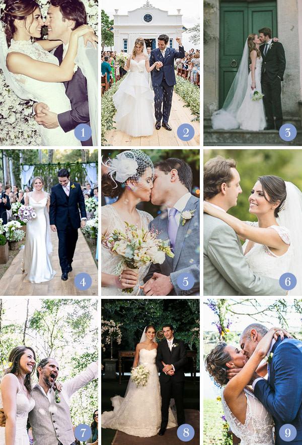 Retrospectiva 2014: casamentos no campo