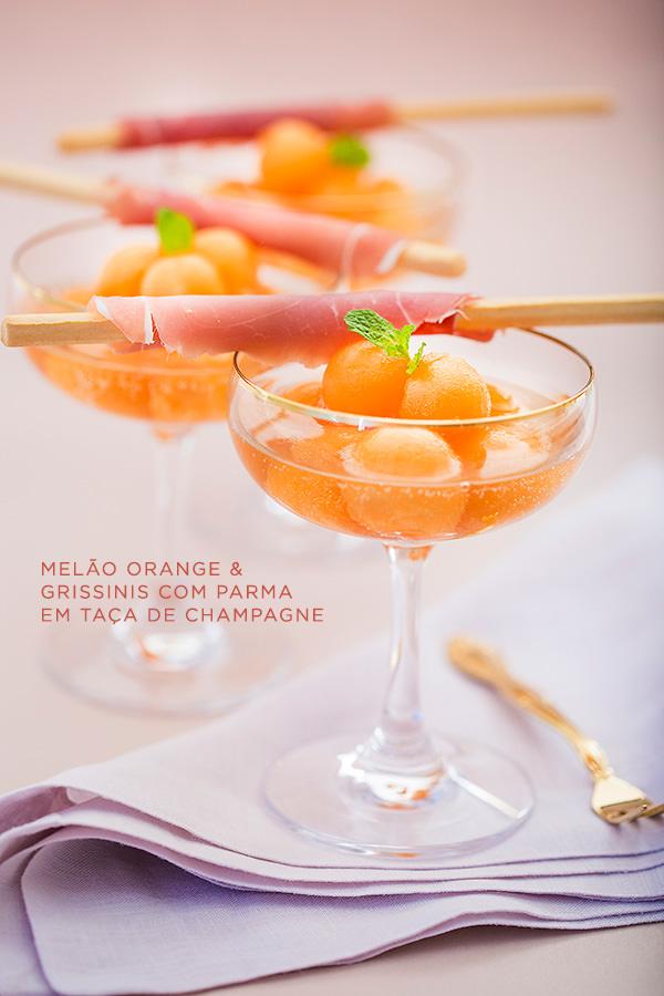 Buffet-Zest-Melao-casamento-Orange-&-grissinis-com-Parma-em-taca-de-champagne