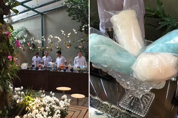 A Help Bar Rio criou um drink especial de algodão doce para adoçar o evento