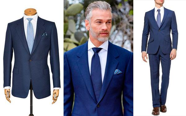 traje-noivo-terno-azul-gravata-azul