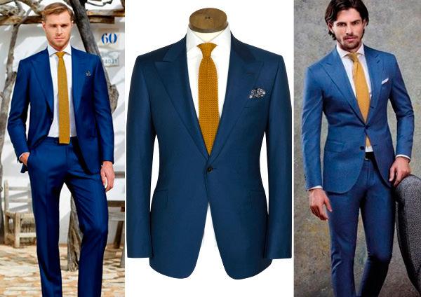 traje-noivo-terno-azul-gravata-mostarda