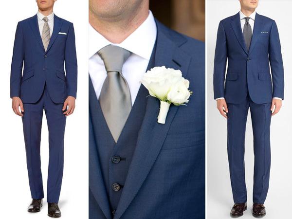 traje-noivo-terno-azul-gravata-prata-cinza