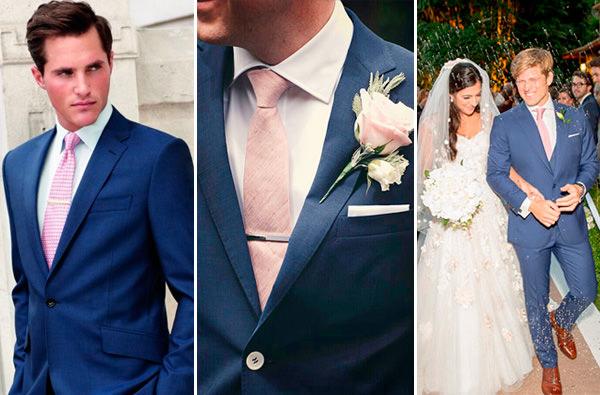 traje-noivo-terno-azul-gravata-rosa