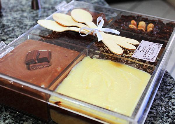 Mini bar de brigadeiro: Dona Chocolate