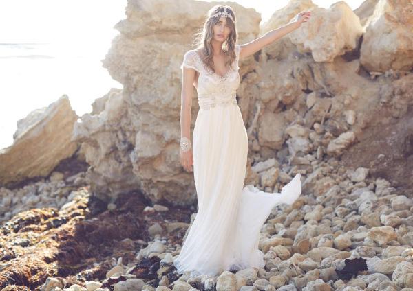 vestido de noiva anna campbell casamento na praia