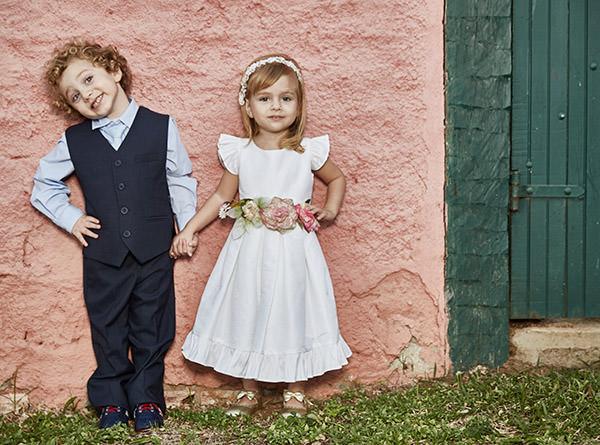 vestidos de daminhas para casamentos no campo