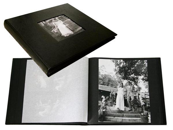 Álbum de casamento tradicional com foto colada (Fernanda Scuracchio)