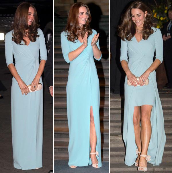 vestidos-longos-de-kate-middleton-wrap-dress-mullet-azul-jenny-packham