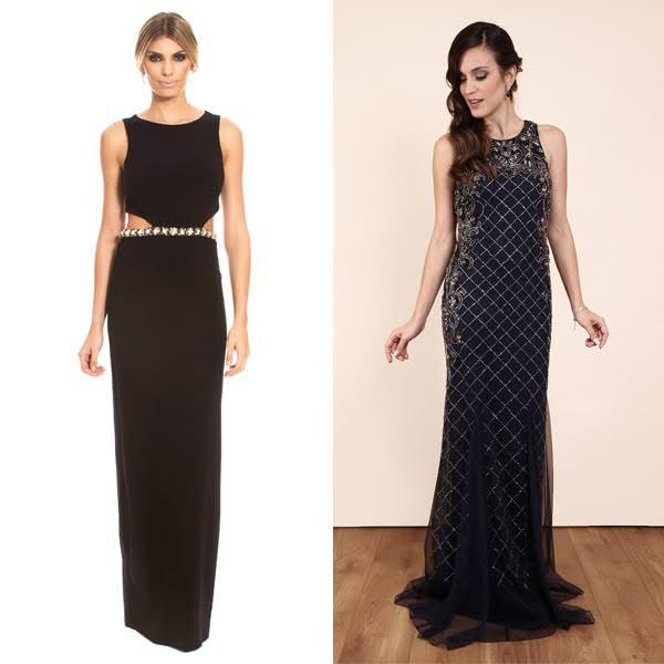 Nicole Miller (disponível na Dress & Go) e Dress Hall