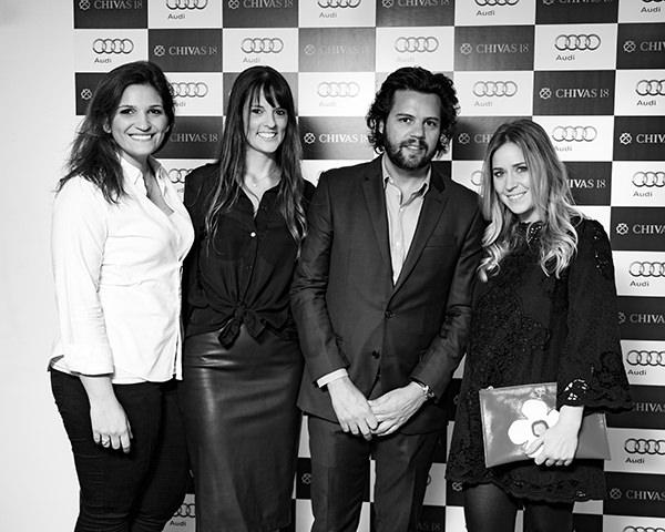 Nathalia Spina, Andrezza Gonçalves, Tiago Pacheco e Patricia Graicar