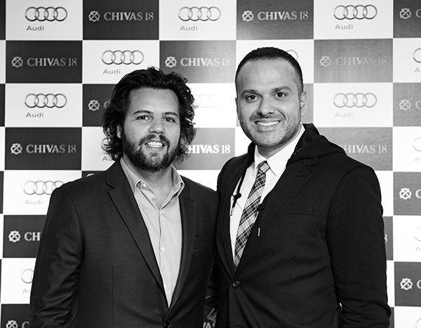 Chivas 18 Moment com Thiago Pacheco e Luciano Martins. Audi Lounge, Oscar Freire - São Paulo, 01/03/2017. Foto: Murillo Medina.