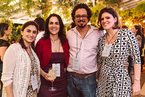 Isabel Becker, Ana e Rodrigo Ponichi