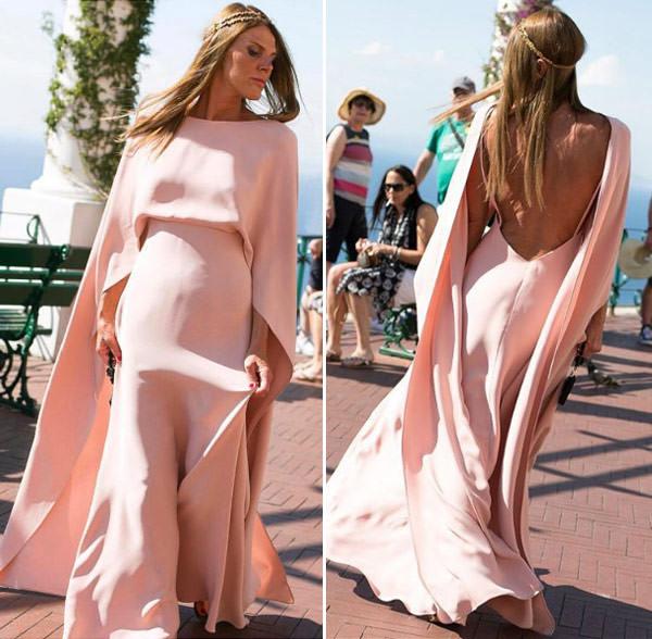 madrinhas-vestido-nude-rosa-casamento-giovanna-battaglia-capri-anna-dello-russo-valentino