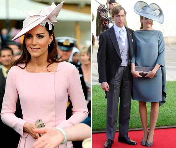 chapeu-convidada-de-casamento-kate-middleton-princesa-luxemburgo