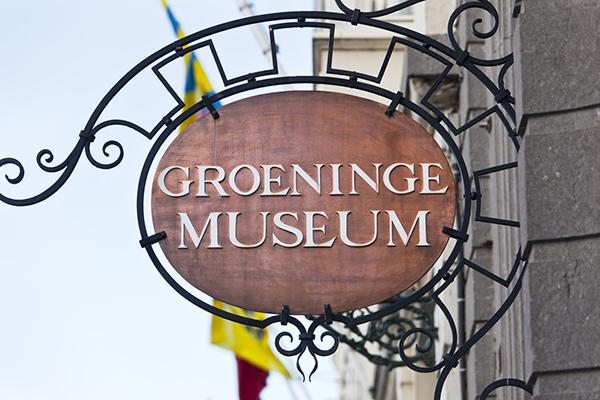 Groeninge Museum Sign