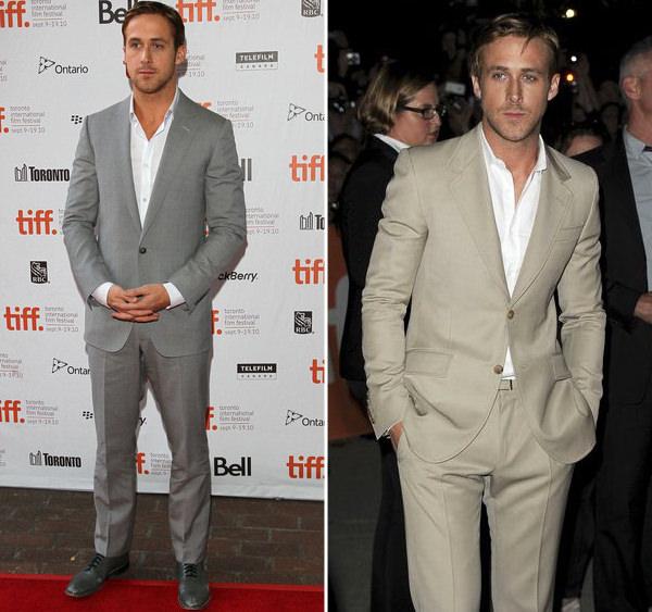 11 looks de Ryan Gosling para inspirar o traje do noivo