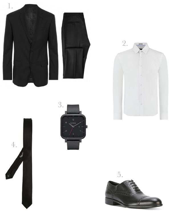 5 peças para o traje do noivo moderno