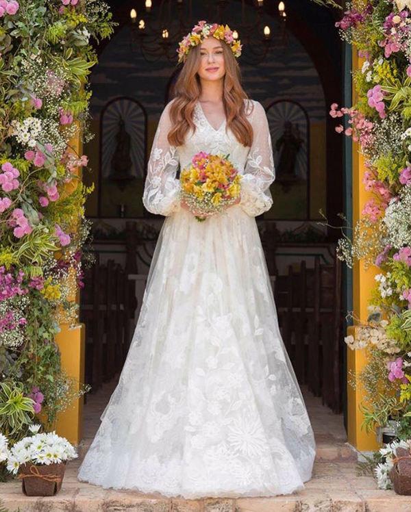 Resultado de imagem para marina ruy barbosa casamento religioso
