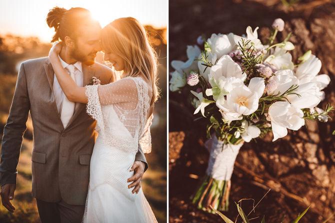 Editorial de casamento ao ar livre no Terras de Clara - look 3