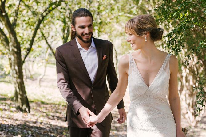 Editorial de casamento ao ar livre no Terras de Clara - look 2