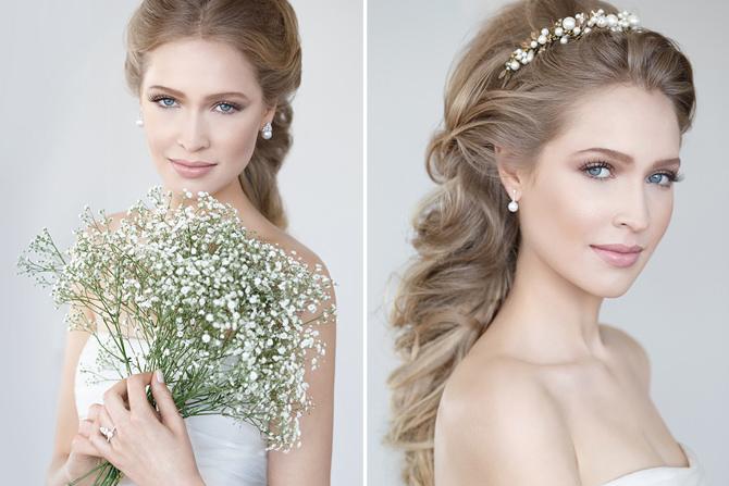 6 inspirações para uma beleza de noiva leve por Jr Mendes